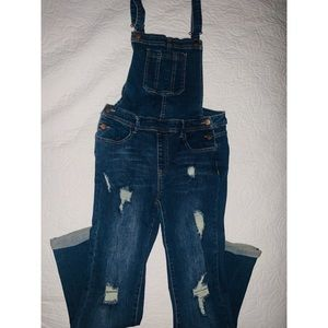 overalls with rips